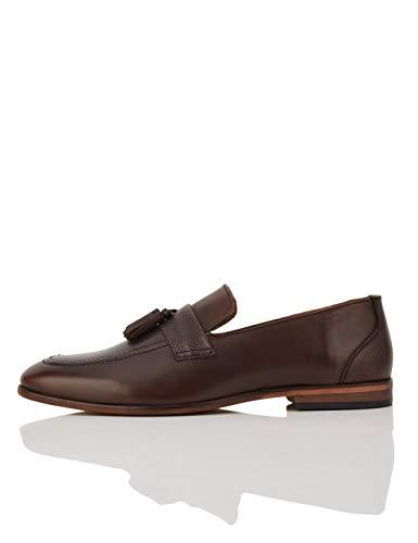 find. Andrews Leather Tassel Loafers, Braun (Chocolate), 45 EU