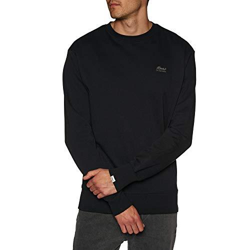 Deus ex machina Standard Conner Crew Sweater X Large Black