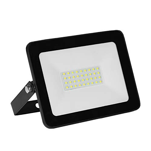 VINGO 30W LED Outdoor Floodlight Thinner and Lighter Design, Waterproof IP65, Super Bright Security Lights, for Garden, Yard, Warehouse, Square, Billboard