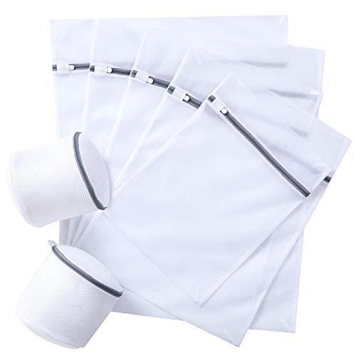 STANBOW Wäschenetz, Wäschebeutel,Wäschesack, für Waschmaschine, dauerhaftmit Reißverschluss für empfindliche Wäsche Waschmaschine, Trockner, BHS (7 Stück)