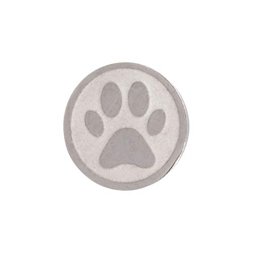 iXXXi Aufsatz TOP PART DOG FOOT Ø 6 mm silber