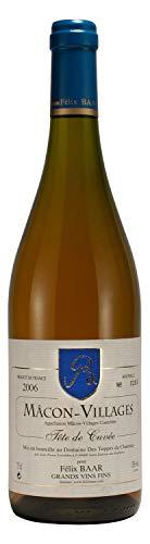 Mâcon-Villages Tête de Cuvée 2006 - Französischer Burgunder Weisswein – Chardonnay, Trocken, 1 x 0,75 l