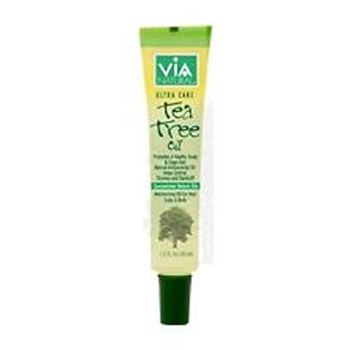 VIA Natural Ultra Care Tea Tree Oil Concentrated Natural Oil 1.5oz