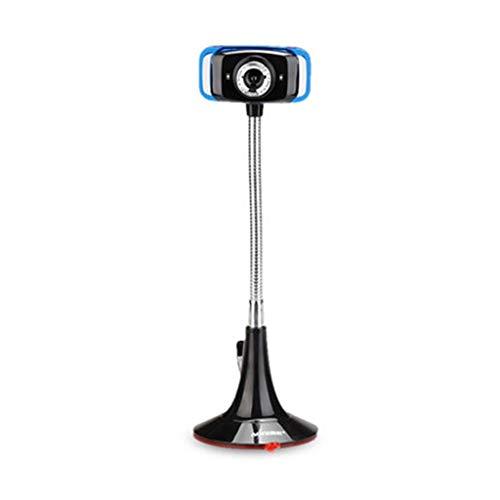 720P Manual Focus Conference webcam met ingebouwde microfoon, Flexibele Draaibaar Steel Pipe, 2 miljoen pixels Live Streaming Webcams Met Stevige Base