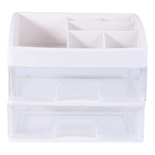 Fjsmjl Kosmetik-Aufbewahrungsbox Multifunktionale Desktop Trümmer Aufbewahrungsbox Schublade Schmuck Aufbewahrungsbox Container Lippenstift Halter