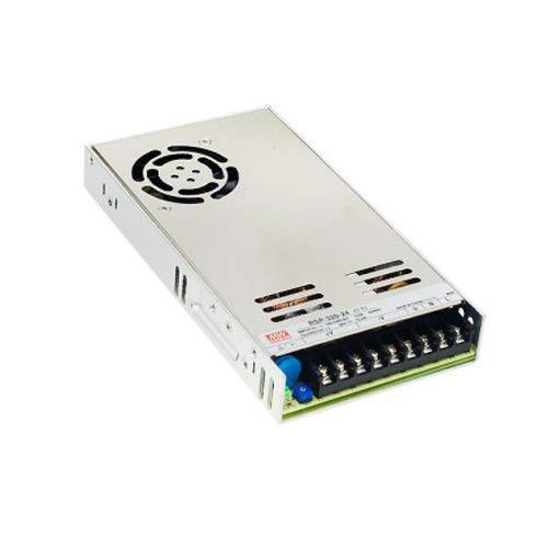 MEAN WELL RSP-320-48 321.6W 1U Metálico unidad de - Fuente de alimentación (321,6 W, 88-264, 47-63, Activo, 8 ms, 90%)