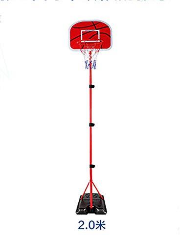 Children's basketbal stand en beugel, basketbal van kinderen staan grote basis indoor mand, bord buiten voor kinderen, indoor balspelen, kan de hoogte worden aangepast aan 200cm