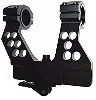 Tactical Side Rail Scope Mount Quick Detach & Integral 1 Inch/30mm Ring for AK