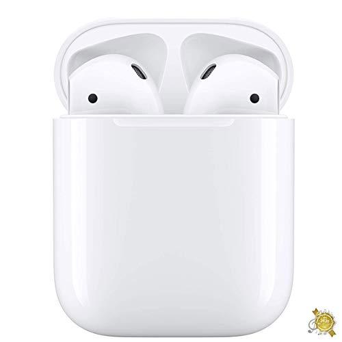 Bluetooth-Kopfhörer 5.0,Kabellose Kopfhörer IPX7 wasserdichte,Noise-Cancelling-Kopfhörer,Geräuschisolierung,mit 35H Ladekästchen und Mikrofon für Android/Airpods Pro/Samsung/Apple AirPods