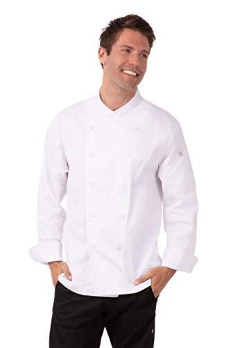 100 cotton chef coat men - 5
