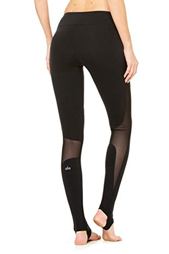MAOYOU Sexy Yoga Hosen, Tesla Leggings Gym Womens Workout Running High Waist Workout Stretch Pants Athletic Golf Leggings, Soft Lightweight,Black,L
