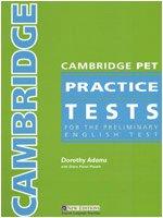 Cambridge PET Practice Tests