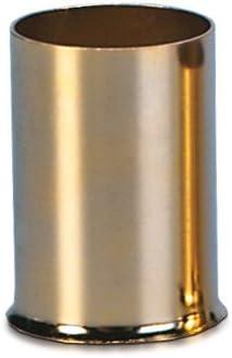 Sinuslive 25mm Aderendhülsen 8 Stück Vergoldet Ae 25 Kabel Endhülsen Auto