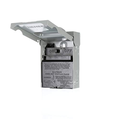 Siemens WNAS2060 Non-Automatic Switch AC Disconnect