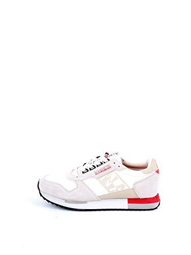 NAPAPIJRI Sneaker Donna Vicky Bianco Beige 37, Bianco