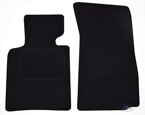 J&J AUTOMOTIVE Tappetini in Velluto su misura per BMW Z4 E85 2003-2009