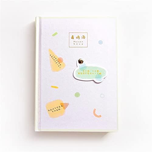 WANGYIYI Cuadernos exquisitos Cuaderno de páginas de Color de Carcasa Dura Planificador Diario clásico Estudiante escribiendo Diarios de Graffiti para niñas niños Mujeres Hombres (Color : Green)