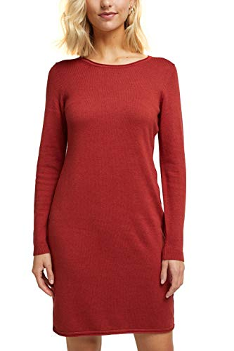 edc by ESPRIT Damen 080CC1E301 Kleid, 809/TERRACOTTA 5, S