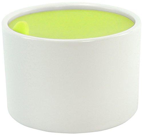 COOKUT RAM9VE2 Set 2 ramequins 9 cm - Vert, Céramique/Silicone