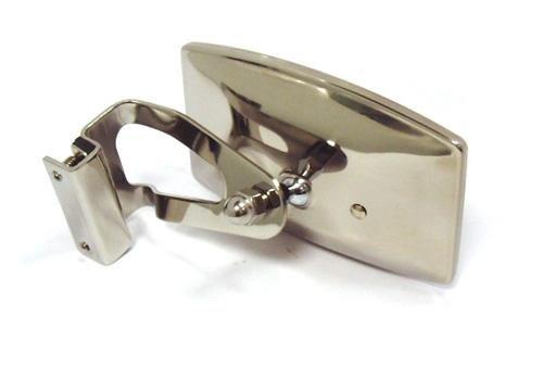 Espejo clásico rectangular de acero inoxidable para coche – para Minis – 948