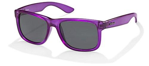Polaroid Gafas de sol polarizadas P 957 F violeta 100% UV Block Sunglasses Polarized