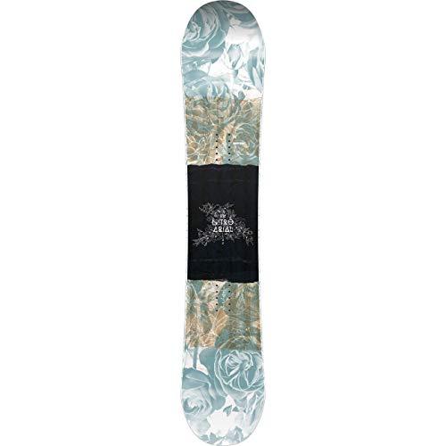Nitro Snowboards Mädchen Arial BRD'20 Camber Rocker Freestyle Park Jib-Stick Boards Snowboard, mehrfarbig, 142 cm