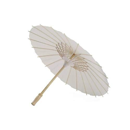 MHBY Regenschirm, Retro DIY Papier Regenschirm Hochzeitsdekoration Foto Sonnenschirm Tanz Prop Regenschirm