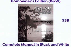 Solar Hot Water Systems: Lessons Learned 1977 to Today (Homeowner Edition (B&W))