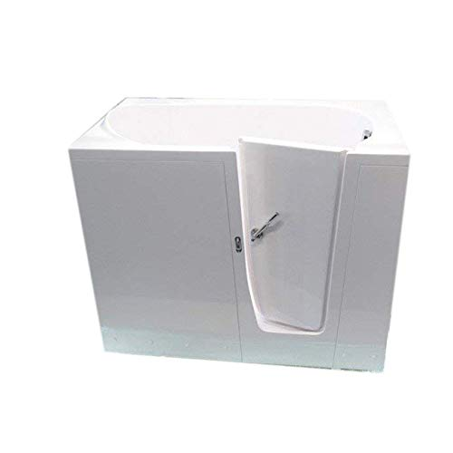Rubin Badewanne,Sitzwanne mit tür, rechtseitig, 14 cm hoher Einstieg …