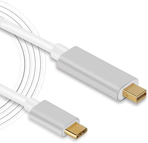 Cable USB C a Mini Displayport, USB-C tipo C a Mini DisplayP