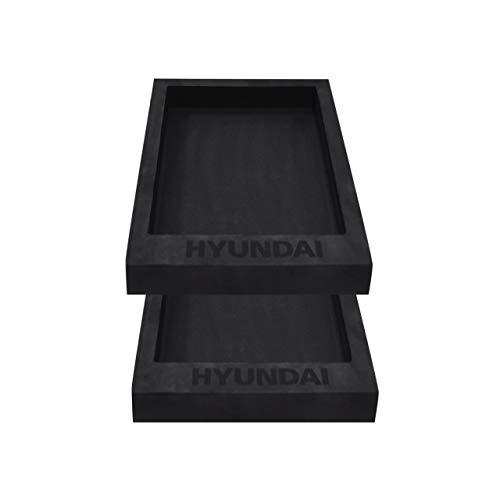 HYUNDAI Werkstattwageneinlage SET 02 für Werkstattwagen, 2x1/2 Einsatz für Schublade, individuell bestückbar (Universaleinlage, Schubladeneinsatz, Hartschaumstoffeinlage, Werkzeugeinlage)
