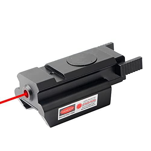 GGBLCS Tactical Scope Sight Airsoft Carril Táctico, Optica Micro Red Dot Sight Lightweight Mini Reflex Scope Sight con Monte para La Caza De Pistola Airsoft