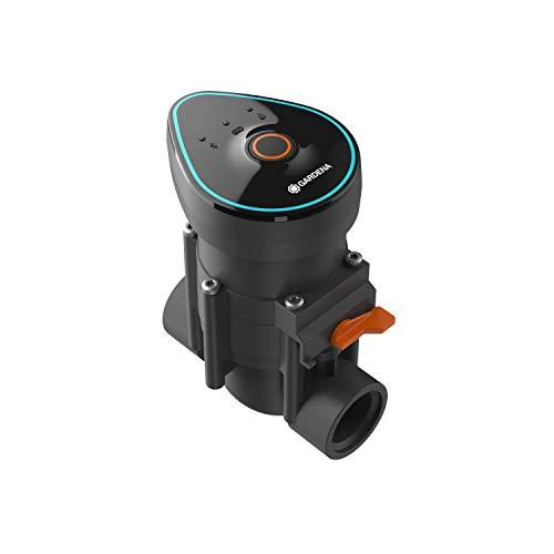 GARDENA Bewässerungsventil 9 V Bluetooth: Mit Bluetooth App programmierbare Bewässerungssteuerung, Reichweite bis zu 10 m, 6 unabhängige Zeitpläne (01285-20)