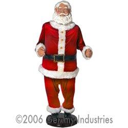 Gemmy 5' Animated Singing Traditional Santa