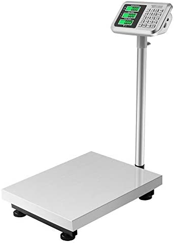TUFFIOM 661lbs Electronic Digital Platform Scale Heavy Duty Stainless Steel Folding Floor Scales product image