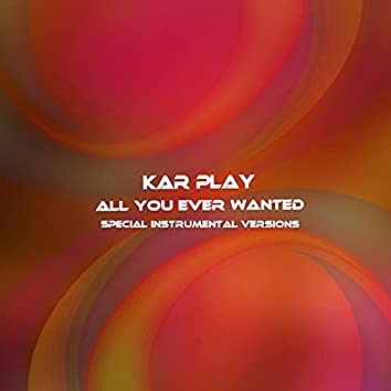 All You Ever Wanted (Special Instrumental Versions)