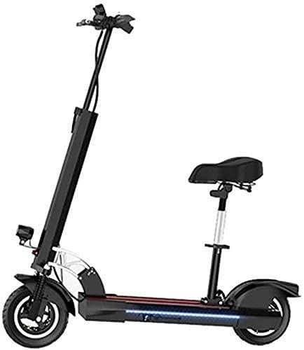 Scooters para adultos Scooter eléctrico adulto plegable 36V 360W velocidad máxima 30Km/H E-Scooter con luz llevada y pantalla Hd