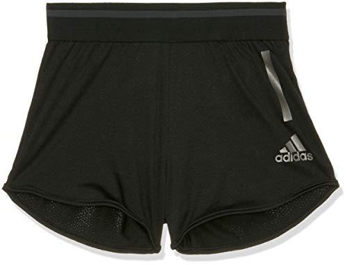adidas Mädchen Training Cool Short 1/4, Black/Carbon, 152