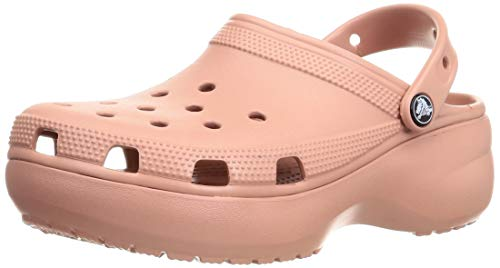 Crocs Classic Platform Clog Women Pale Blush Croslite