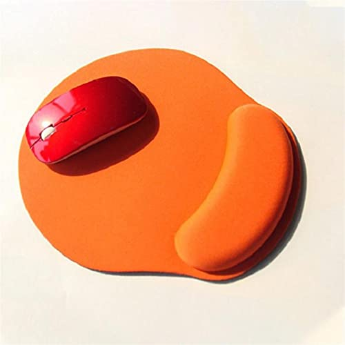 BEIMODZ Alfombrilla de Ratón Color sólido Alfombrilla de ratón EVA Pulsera Mates cómodos for Juegos for Juegos PC PC portátil Suave Alfombrilla de ratón 1pcs (Color : A)