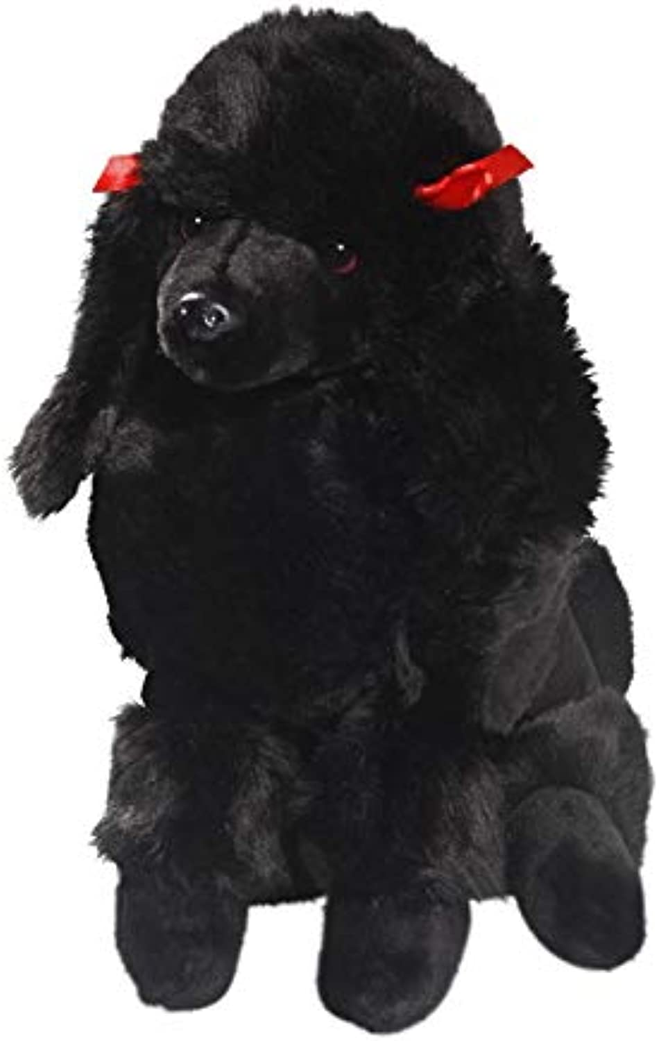 Carl Dick Poodle Black, 12 inches, 30cm, Plush Toy, Soft Toy, Stuffed Animal 3267