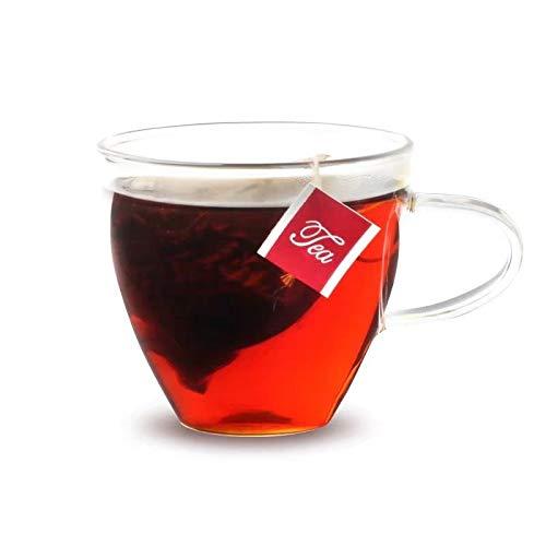 XFHR Schwarzer Tee und Milchtee spezieller dreieckiger Teebeutel, einzeln verpackt 1 Schachtel mit 15 Beuteln