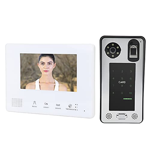 Videoportero, compatible con comunicación de intercomunicador doble, timbre de video compatible con...