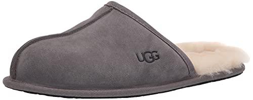 UGG Men's Scuff Slipper, Dark Grey, 11 UK