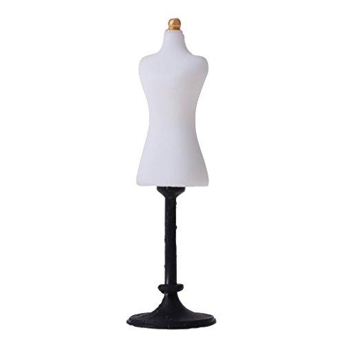 muebles de casa de muñecas, modelo de soporte de maniquí en miniatura 1/12, soporte de exhibición de ropa de vestido de muñeca, mini electrodoméstico de casa de muñecas, kit de decoración de casa