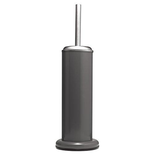 Sealskin Toilettenbürste Acero, WC-Bürstengarnitur aus Edelstahl, Farbe: Grau