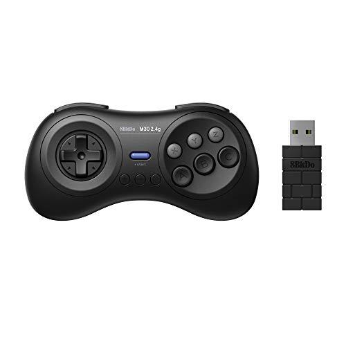8Bitdo M30 2.4G Wireless Gamepad for Sega Genesis Mini and Mega Drive Mini - Sega Genesis - Inalámbrico 2.4G Edition