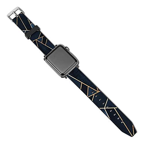 Correa de repuesto para reloj Apple Watch de 38 mm, 40 mm, correa de repuesto para iWatch Series 5/4/3/2/1, piedras marinas