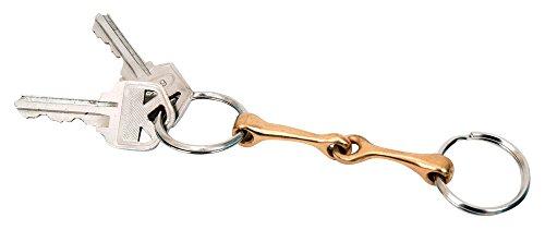 Metalab Snaffle Bit Keychain - Brass
