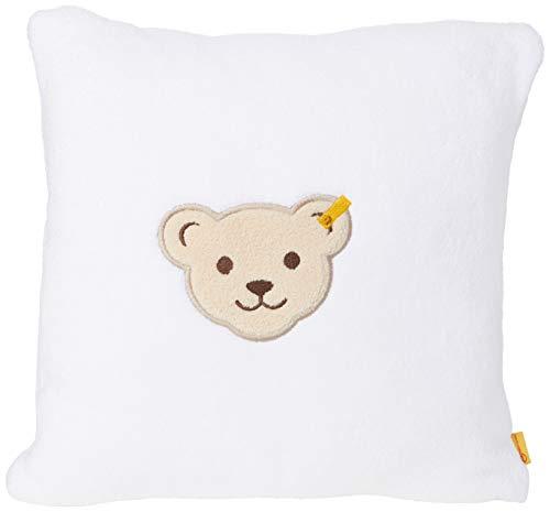 Steiff Unisex Baby Pillow Kissen, Bright White, 999